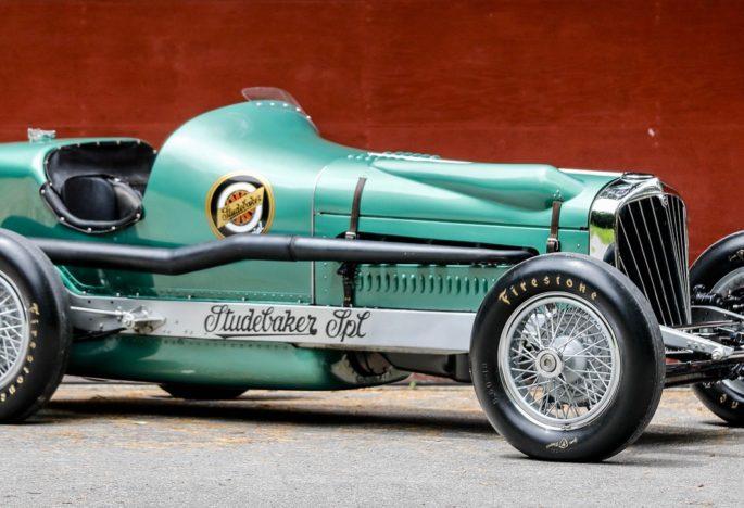 Studebaker museum hopes to post winning bid on historic race car