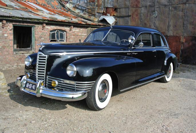 Te koop: Schitterende Packard Super Clipper uit 1947.