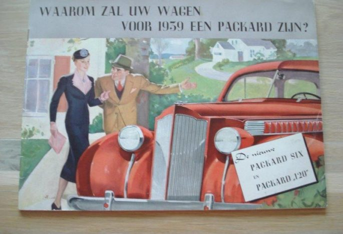 Te koop: diverse documentatie Packard