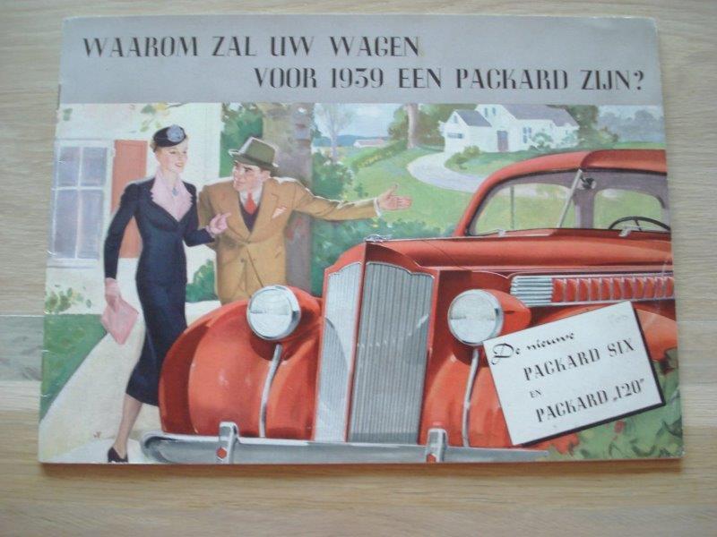 Te koop: diverse documentatie Packard